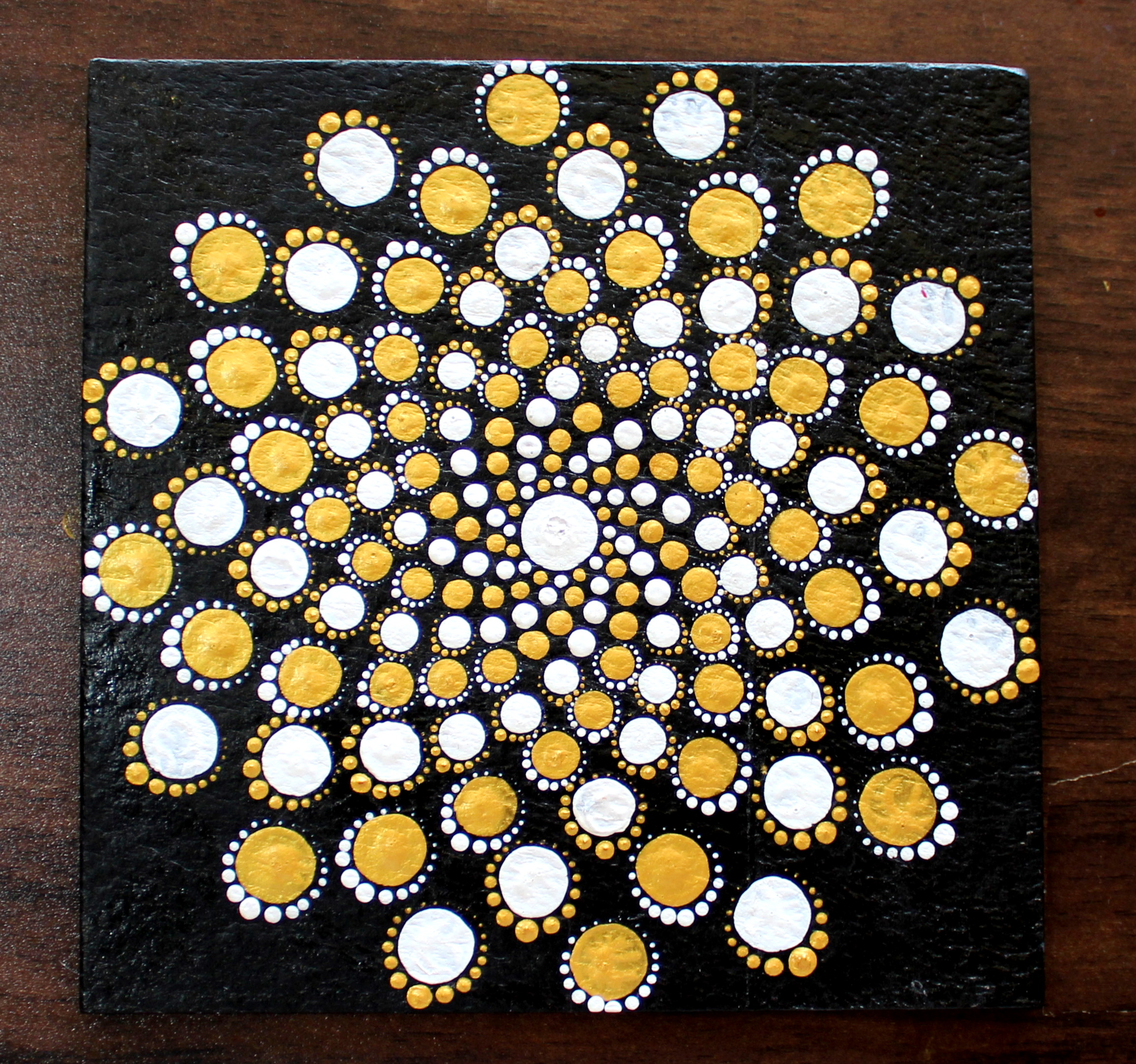 MANDALA DOT ART FOR BEGINNERS – CREATIVE ART